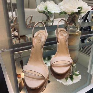 SCHUTZ Luriane Heel in Bellini